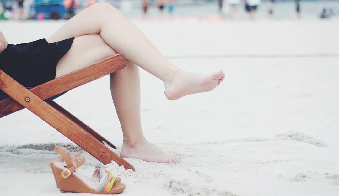 láb visszér strand